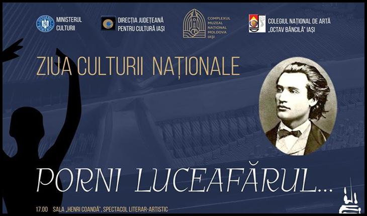 """Ziua Culturii Naționale sarbătorită la IAȘI, Foto: Facebook / Palatul Culturii din Iași - Complexul Muzeal Național """"Moldova"""""""