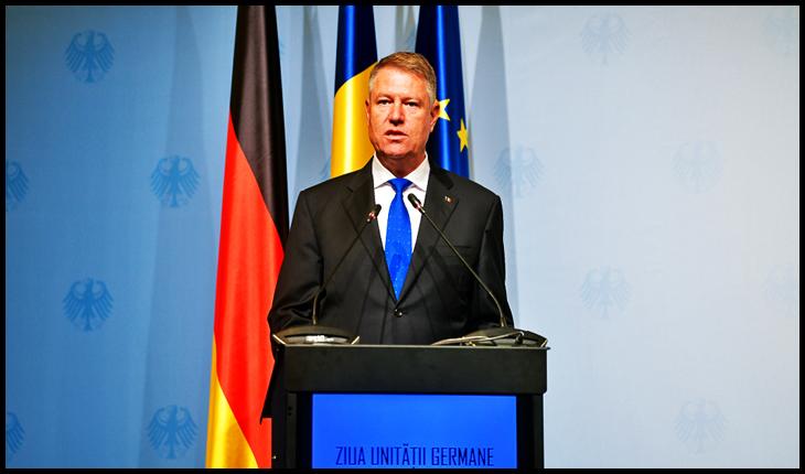 """""""Ziua Unității Germane"""", singura zi când Iohannis simte dorința de unire , Foto: presidency.ro"""
