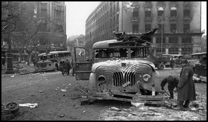 2 Ianuarie 1945 - Omenia românească în timpul asediului Budapestei