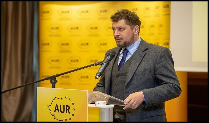 Conferință de presă organizată joi de AUR la Iași pe fondul crizei politice și a alegerilor anticipate
