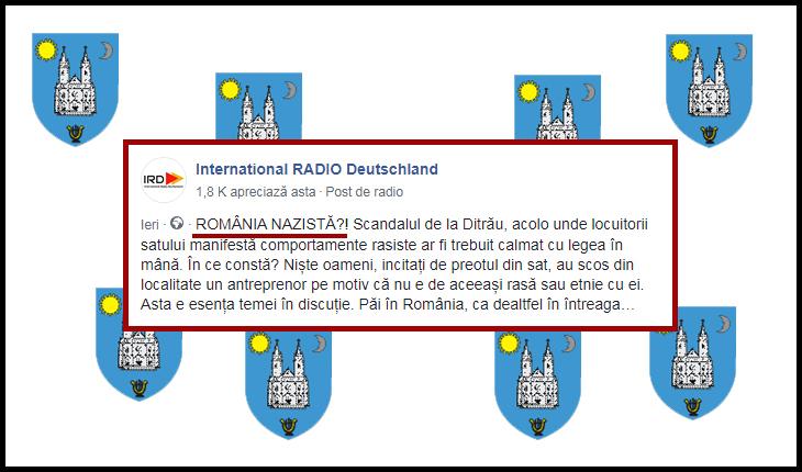 """Cazul Ditrău capătă proporții monstruoase în presa din afara țării: """"ROMÂNIA NAZISTĂ?!"""""""