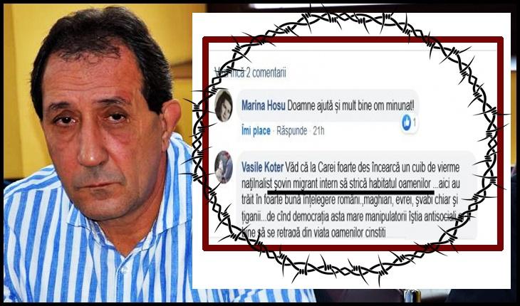 Consilier român stigmatizat cu o anatemă cu iz rasist la Carei, Foto: Buletin de Carei