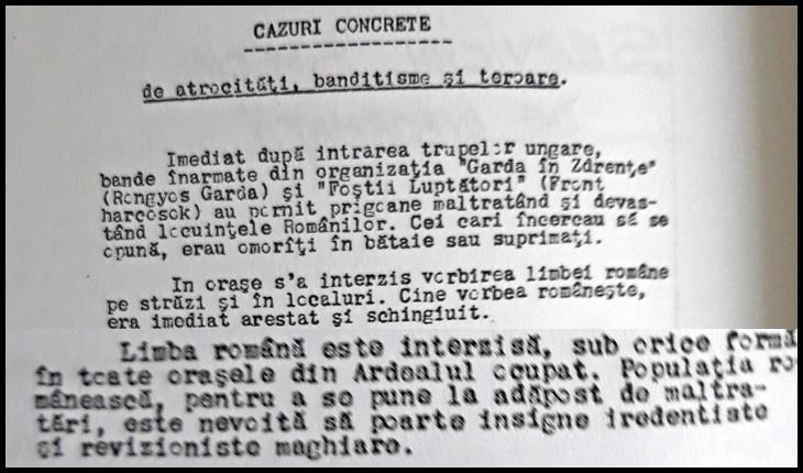După ce s-a încercat exterminarea limbii române în Transilvania, azi niște tâmpiți le pun pe tavă Codul Administrativ, instrument de deznaționalizare?
