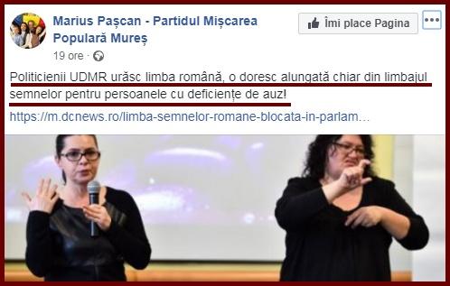Foto: captură  facebook / Marius Paşcan