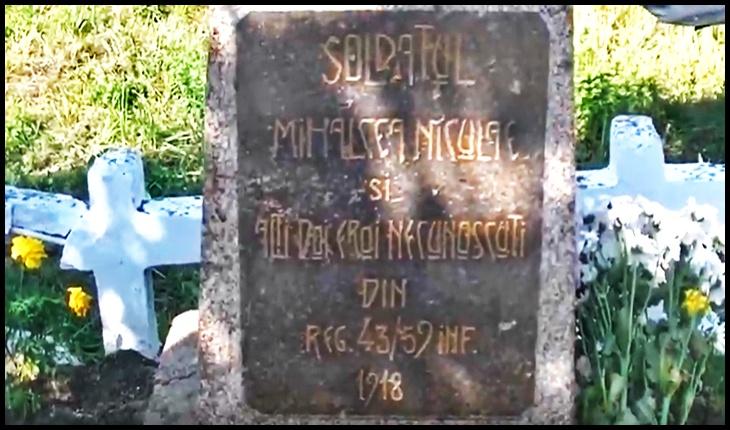 Mormântul martirilor Unirii, împușcați de bolșevici - eroii unității 43/59 condusă de către generalul Ernest Broșteanu