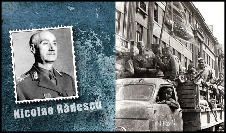 11 februarie 1945 - După câteva manifestări patriotice, generalul Rădescu se refugiază la Ambasada Britanică din București, Foto: Fototeca online a comunismului românesc