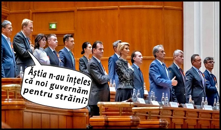PNȚCD acuză: PNL vinde în această noapte o bucată din România! Suntem în mijlocul unei noi lovituri de stat!, Foto original: gov.ro