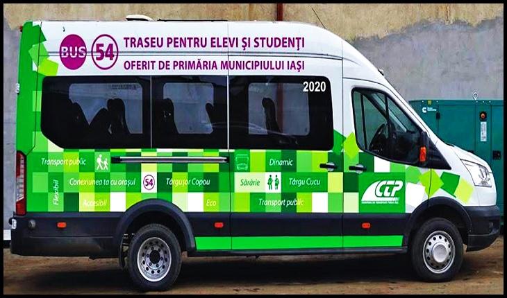 Primăria Municipiului Iași va introduce un nou traseu în programul de transport public, unul pentru elevi și studenți, Foto: Primăria Municipiului Iași
