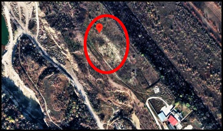 Locul unde a fost Turnul Dezrobirii Basarabiei