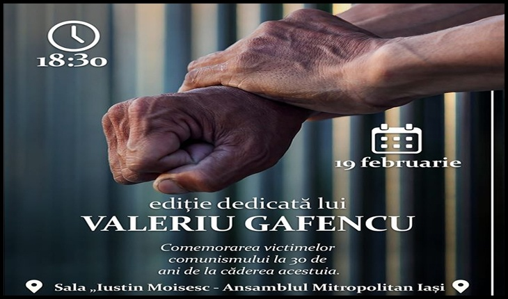 """Minunile """"sfântului închisorilor"""", Valeriu Gafencu, revelate după vizionarea unui film dedicat comemorării victimelor comunismului, Foto: Facbook / ASCOR Iași"""