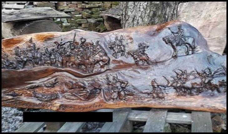 """Un artist careian care expune sculpturi inspirate din migrația maghiarilor, atacă un consilier român cu expresia de """"migrant intern""""!?, Foto: Buletin de Carei"""