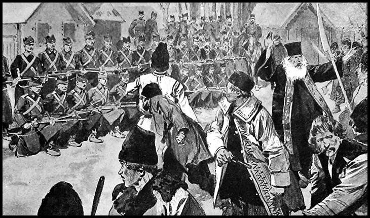 Istorii neștiute: La 12 martie 1907, un preot le cere sutelor de țărani să nu pătrundă în Brăila, unde-i aștepta armata pregătită de represalii
