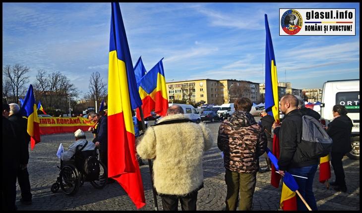 """S-a pornit către Cotroceni de la 16:30 din Piața Eroilor din fața Universității Naționale de Apărare """"Carol I"""""""