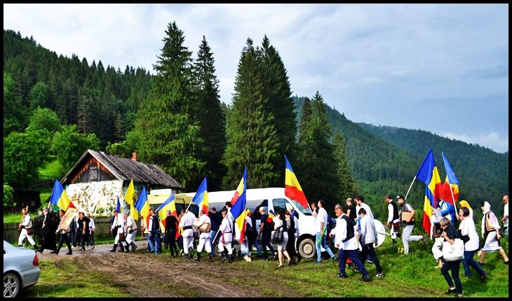 Fratia Ortodoxa Sf. Mare Mucenic Gheorghe purtatorul de Biruinta la Valea Uzului, Foto: © Glasul.info