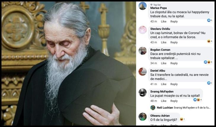 """Președintele de onoare al Ligii Studenţilor - LS IAŞI: """"Asta se numește eugenie! Crimă!"""", Foto: doxologia.ro / Facebook / Silvian-Emanuel Man"""