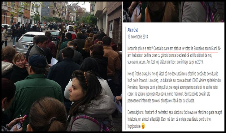 """Votant de-al lui Iohannis: """"Dacă nu faci ceva vei rămâne o pată neagră în istorie, un simbol al lașității"""", Foto: captură Facebook / Alex Öst"""