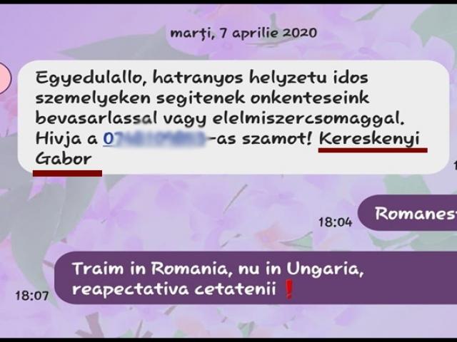 Deși sunt majoritari la Satu Mare, românii primesc mesaje exclusiv în limba maghiară din partea primarului!, Foto: facebook.com/AncuAnculina