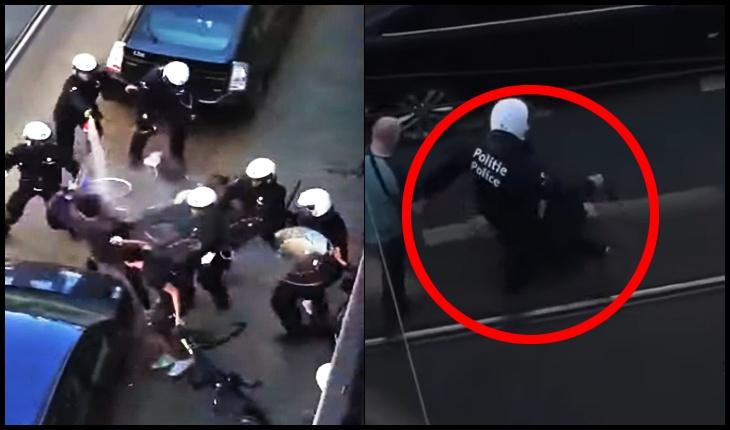 (VIDEO) Proteste violente în Belgia după ce un tânăr pe scooter urmărit de poliție, a murit într-un accident rutier, Foto: captură youtube