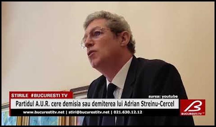 AUR: Streinu-Cercel trebuie să plece într-o vacanță definitivă din orice funcție publică!, Foto: Bucuresti TV