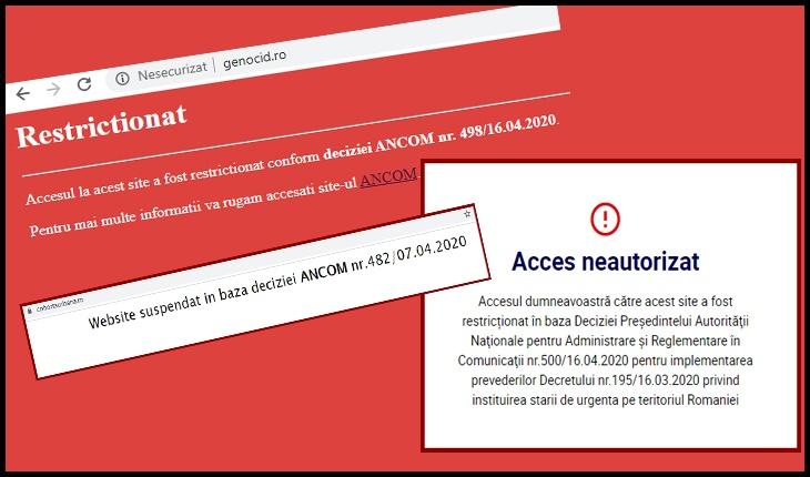 Mai multe site-uri închise de ANCOM-ul lui Grindeanu, inclusiv un site asociat cu Ninel Peia