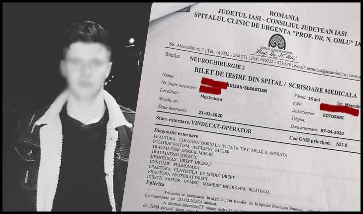 Se moare cu zile în România! În plină pandemie de coronavirus, pacient de 17 ani în stare gravă, externat la Iași