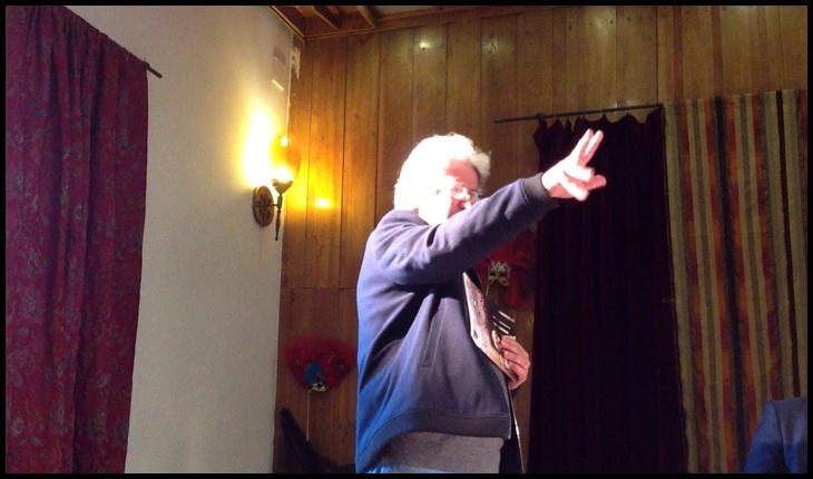 Carol Erdos, fost actor la teatrul din Satu Mare, Foto: captură youtube