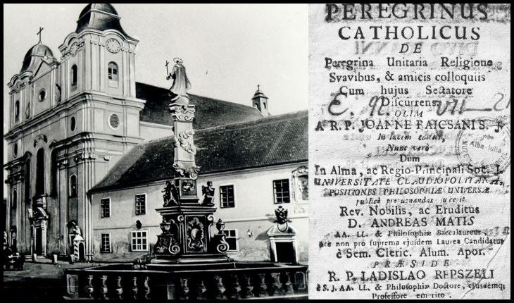 La 12 Mai 1581 a fost înființat Colegiul Iezuit din Cluj
