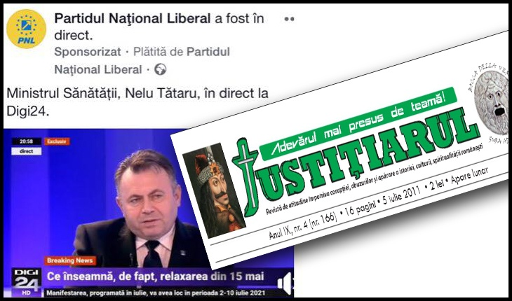 Cenzura în Țara Peneleilor Vodă: site-ul justitiarul.ro, închis pentru a doua oară de ANCOM, Foto: captură facebook