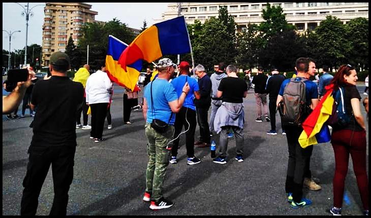 AUR cheamă oamenii la protest împotriva Guvernului Orban , Foto: Facebook / Cos Lucian