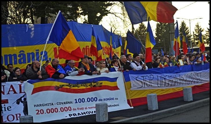 Protestul împotriva Codului Administrativ, București, Cotroceni, 1 Martie 2020, Foto: Glasul.info
