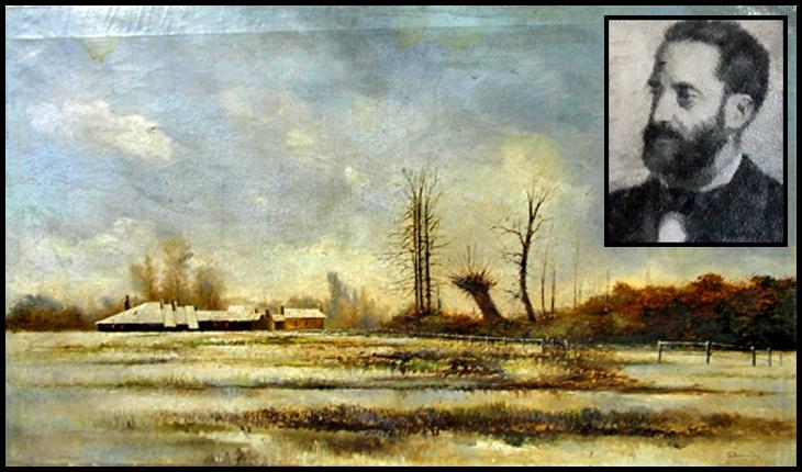 La 9 mai 1837 se năștea la Iași Theodor Buiucliu, pictor peisagist, membru al Societății Junimea