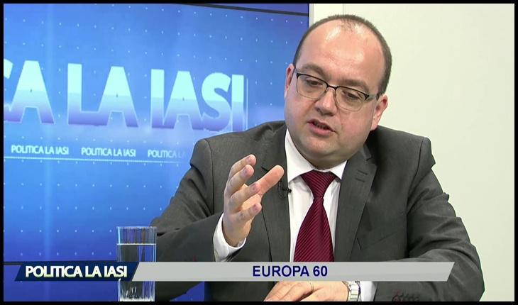 Valentin Naumescu, Foto: captură IASI TV Life