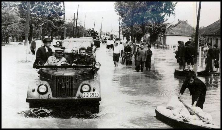 12 mai 1970: 50 de ani de la inundaţiile care au devastat peste 1.500 de localități din România, Foto: Fototeca online a comunismului românesc, photo #E549, 1/1970