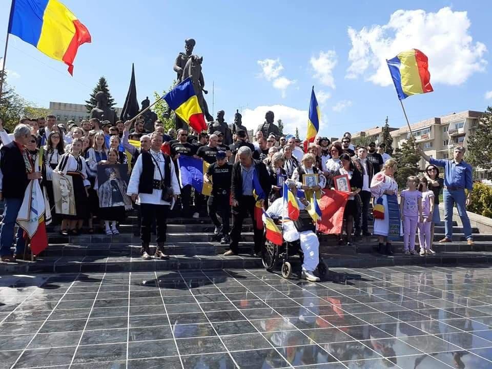 Trianonul sărbătorit la Sfântu Gheorghe, în Covasna, Inima României, pentru prima dată, după mai bine de 80 de ani, Foto: Facebook / Mihai Tîrnoveanu