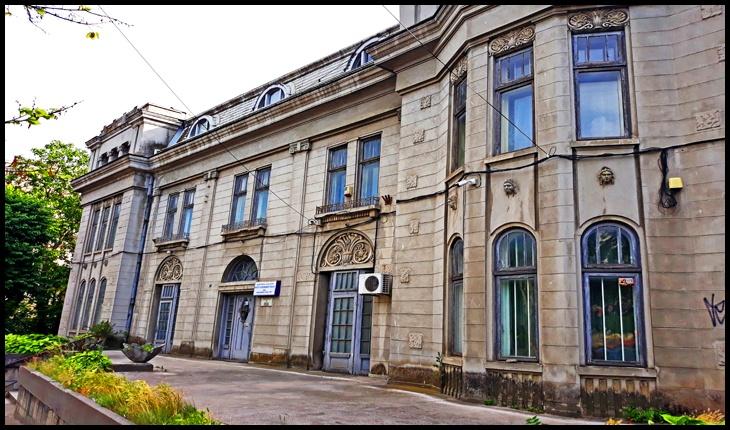 Casa Mavrogheni, actual adăpostind Institutul de Sănătate Publică iasi