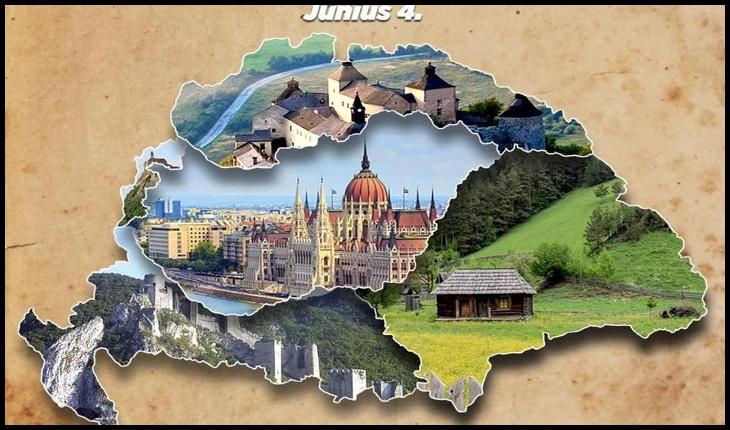 Demență? Comuna Ghimeș-Făget din Bacău, prezentă pe o hartă iredentistă promovată cu frenezie pe 4 iunie în Ungaria