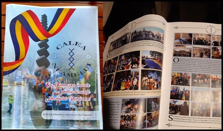 A apărut Revista Asociației Calea Neamului: 44 de pagini, 70 de acțiuni cu fotografii și texte, Foto: Facebook / Mihai Tîrnoveanu