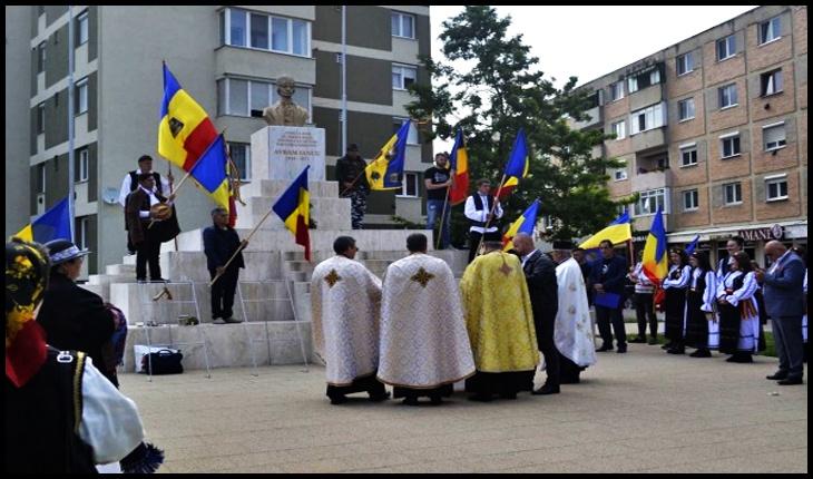 Sfințirea steagurilor și ansamblului reabilitat al Eroului Național Avram Iancu de la Carei. Marcarea Centenarului Tratatului Trianon