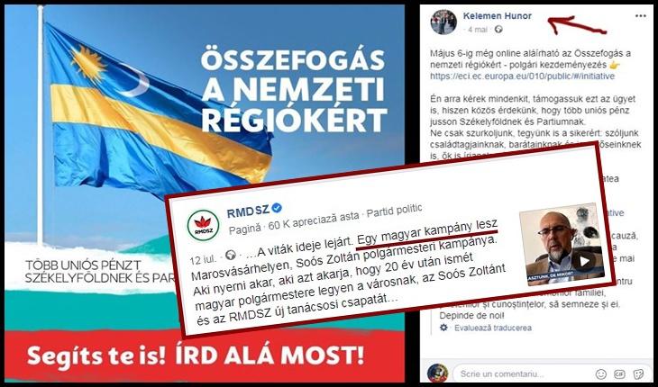 """La Târgu Mureș, Kelemen Hunor a spus că """"se face campanie electorală maghiară"""", Foto: Facebook / Kelemen Hunor"""