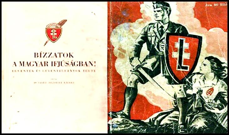 Aveți încredere în tineret / Bizzatok a magyar ifjuságban. Leventék és leventelányok élete , Athenaeum, 1943 ( Încredeți-vă în tineretul maghiar. Viața levenților și a fetelor levente).