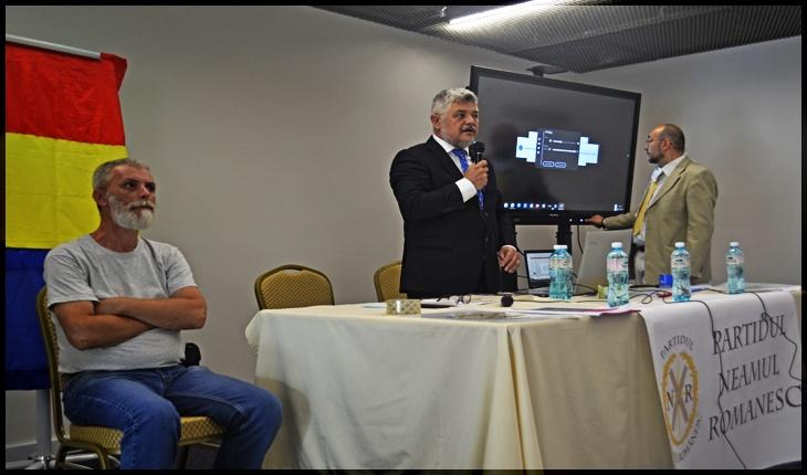 Bogdan Ștefan Pavel, ales președinte al organizației Iași a Partidului Neamul Românesc