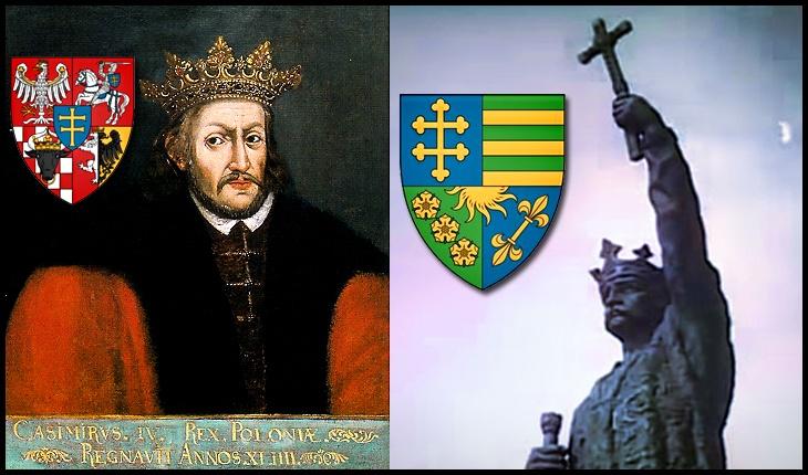 28 Iulie 1468: Tratat între Moldova și Polonia prin care suveranul polonez se angaja că nu va adăposti pretendenții la tronul Moldovei