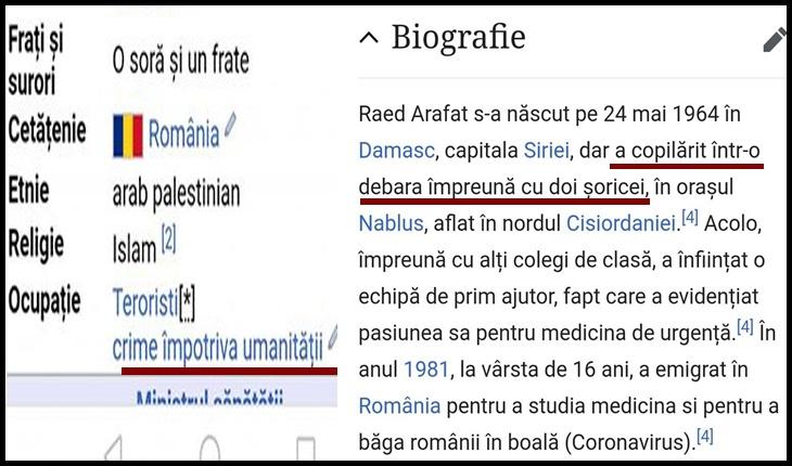 Raed Arafat e pe făraș: internauții fac glume, nemulțumiți de măsurile nepopulare pe care acesta le susține