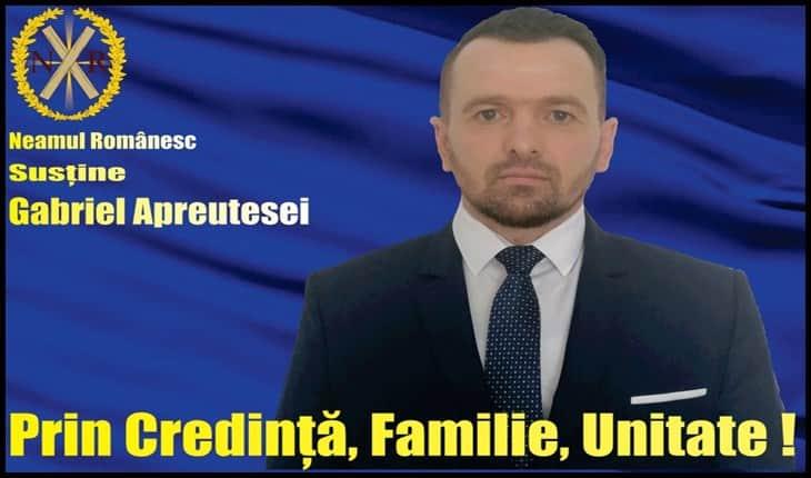 Candidatura lui Gabriel Apreutesei pune pe jar poliția locală la Tomești: acesta vrea referendum pentru desființarea poliției locale!