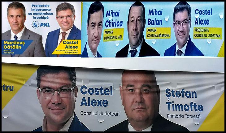 Primarii PSD din județul IAȘI, preluați de PNL sub promisiunea că vor scăpa de pușcărie