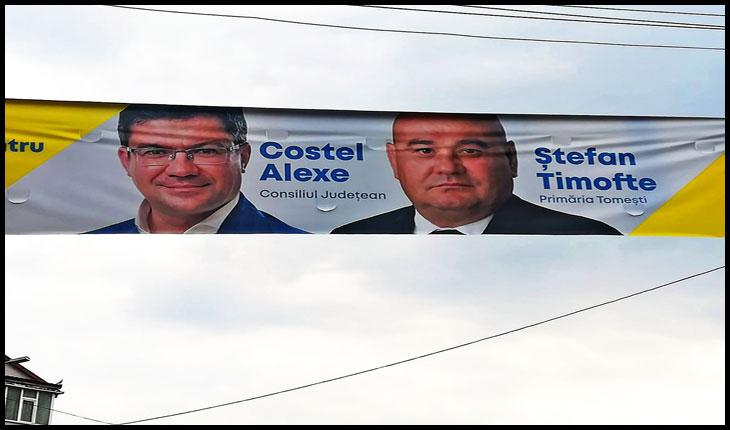 Și primarul Ștefan Timofte, din comuna Tomești,  a plecat de la PSD la PNL