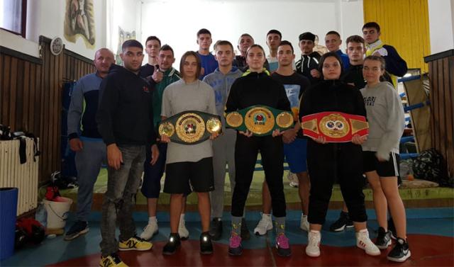 Campionul Alexandru Marin, în vizită la sala de sport și la antrenorul care l-a format