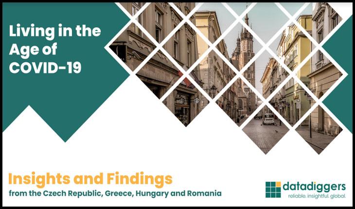 O companie a efectuat o cercetare comparativă despre felul în care oamenii din România, Grecia, Ungaria și Cehia simt ca pandemia de Covid-19 le-a influențat viața