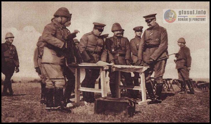 Generalul bulgar Toșeff și Hilmi Paşa făcând organizarea militară lângă Medgidia