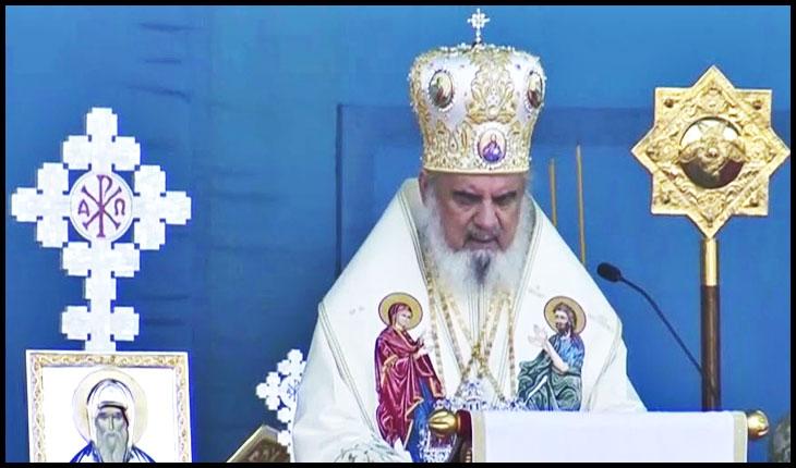 AUR denunță atacurile la adresa Patriarhului Daniel, foto: Antena 3